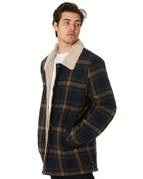 PORTOBELLO MENS CLOTHING RUSTY JACKETS - JKM0408PBO