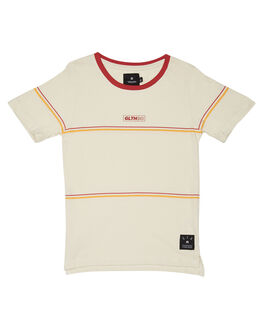 VINTAGE WHITE STRIPE KIDS TODDLER BOYS ST GOLIATH TOPS - 2821008VWHT