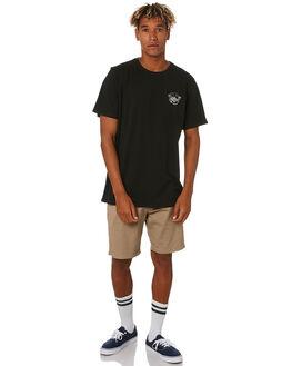 BLACK MENS CLOTHING DEPACTUS TEES - D5203006BLACK