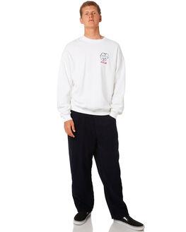 WHITE MENS CLOTHING POLAR SKATE CO. JUMPERS - PSCTWOSIDEWHT