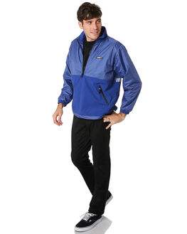 ULTRAMARINE MENS CLOTHING OBEY JACKETS - 121800379UMR