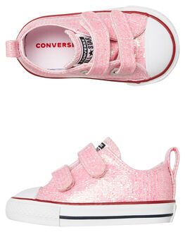 PINK KIDS GIRLS CONVERSE FOOTWEAR - 763550PINK