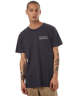 FADED NAVY MENS CLOTHING MOLLUSK TEES - MS1206FNVY