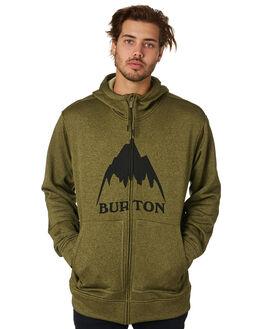 MARTINI OLIVE MENS CLOTHING BURTON JUMPERS - 16224109300