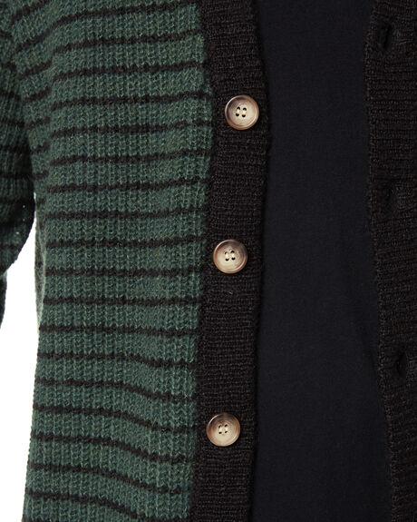 BLACK BOTTLE STRIPE MENS CLOTHING MISFIT KNITS + CARDIGANS - MT096302BLKBT