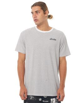 NATURAL MENS CLOTHING AFENDS TEES - M181103NAT