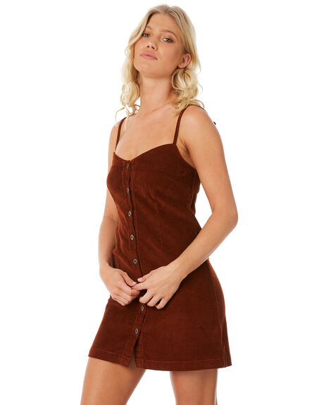 RUST OUTLET WOMENS RVCA DRESSES - R281764R24