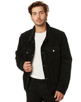 BLACK MENS CLOTHING ROLLAS JACKETS - 15861100