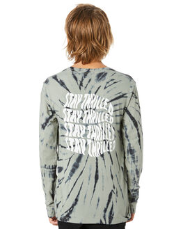 SAGE TIE DYE KIDS BOYS ALPHABET SOUP TOPS - AS-KLA8395BSGTD