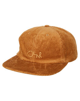 TAN MENS ACCESSORIES POLAR SKATE CO. HEADWEAR - PSCCORDTAN