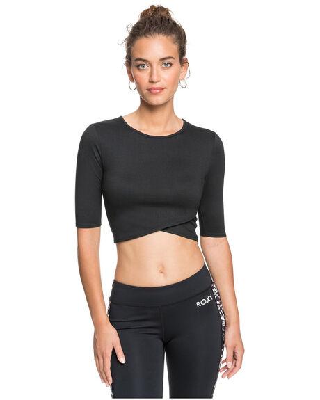ANTHRACITE WOMENS CLOTHING ROXY ACTIVEWEAR - ERJKT03714-KVJ0