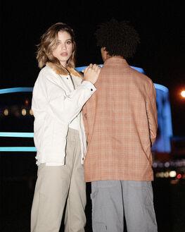 ECRU WIDE WALE WOMENS CLOTHING LEVI'S JACKETS - 85309-0000ECRU