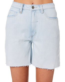 LIGHT BLUE WOMENS CLOTHING THRILLS SHORTS - WTDP-315LELBLU