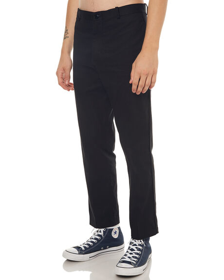 BLACK MENS CLOTHING NO NEWS PANTS - N5171192BLACK
