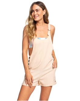 IVORY CREAM WOMENS CLOTHING ROXY PLAYSUITS + OVERALLS - ERJWD03356-TFM0