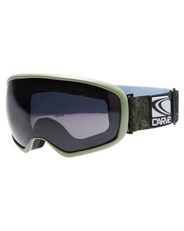 ARMY GREEN BLACK BOARDSPORTS SNOW CARVE GOGGLES - 6008ARGR