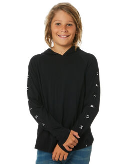 BLACK KIDS BOYS HURLEY TOPS - CJ0723010