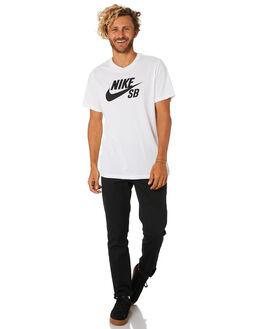 WHITE MENS CLOTHING NIKE TEES - AR4209100