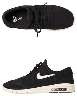 BLACK CREAM MENS FOOTWEAR NIKE SKATE SHOES - SS631303-032M