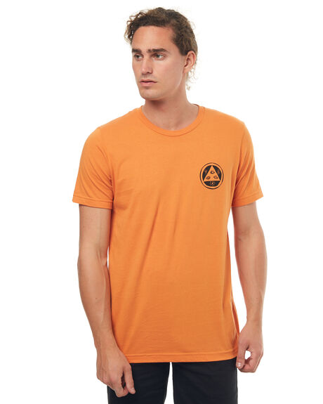 ORANGE MENS CLOTHING WELCOME TEES - SABERSKULLORNG