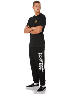 BLACK MENS CLOTHING VANS PANTS - VNA3W4PBLKBLK