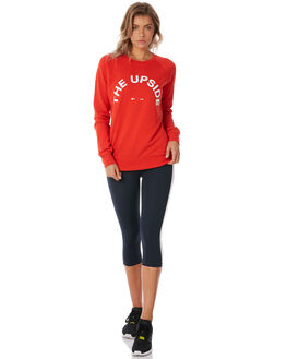 RED WOMENS CLOTHING THE UPSIDE JUMPERS - UPL1889RED