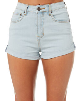 WASHED SLATE WOMENS CLOTHING BILLABONG SHORTS - 6572291WAS