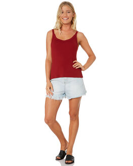 RUST WOMENS CLOTHING SWELL SINGLETS - S8189272RUST