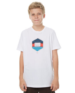 WHITE KIDS BOYS BILLABONG TEES - 8571014WHT