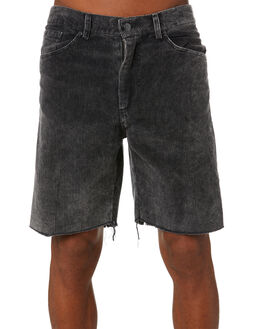 GREY MENS CLOTHING THE PEOPLE VS SHORTS - AW20098GRY