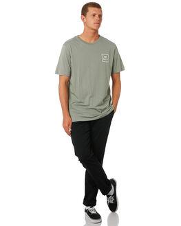 SAGE MENS CLOTHING RVCA TEES - R172062SAGE
