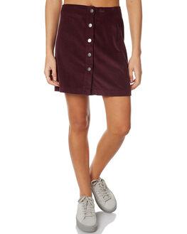 PLUM WOMENS CLOTHING RVCA SKIRTS - R271831PLUM