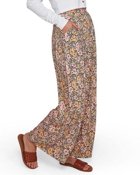 OFF BLACK WOMENS CLOTHING BILLABONG PANTS - BB-6507416X-OFB