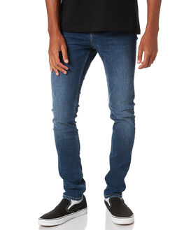 DARK GRAIN BLUE MENS CLOTHING DR DENIM JEANS - 2010109F20DGBLU