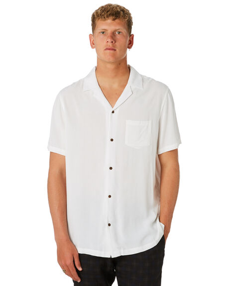 OFF WHITE MENS CLOTHING BANKS SHIRTS - WSS0096OWH