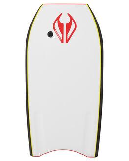 RED WHITE BOARDSPORTS SURF NMD BODYBOARDS BOARDS - N19METH40RERWHI