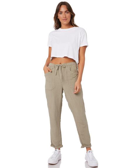 STONE GREEN WOMENS CLOTHING RIP CURL PANTS - GPABN98005