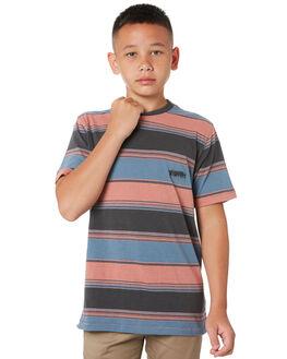 STORMY BLUE KIDS BOYS VOLCOM TOPS - C0112002STB