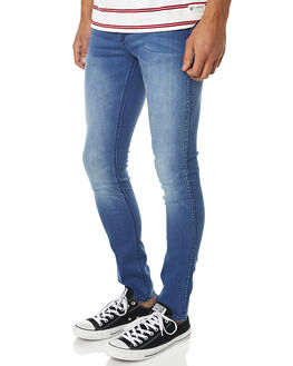 TWIST BLUE MENS CLOTHING WRANGLER JEANS - W-099972-570TBLU