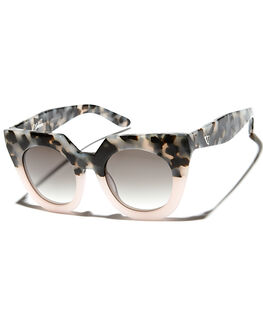 BABY PNK TORT FADE WOMENS ACCESSORIES VALLEY SUNGLASSES - S0183GBLK