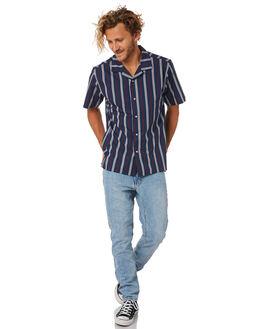 NAVY MENS CLOTHING KATIN SHIRTS - WVJES01NVY