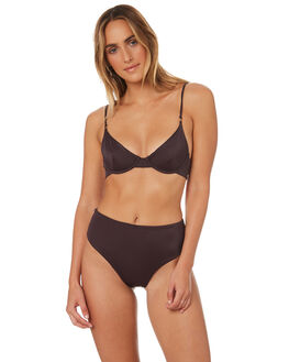 AUBERGINE WOMENS SWIMWEAR SKYE AND STAGHORN BIKINI BOTTOMS - SS139-AAUB