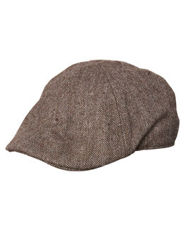 BROWN MENS ACCESSORIES DICKIES HEADWEAR - K1182014BRN
