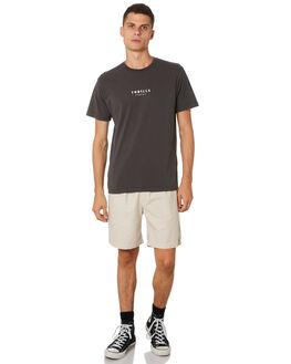 MERCH BLACK MENS CLOTHING THRILLS TEES - TH9-106MBMCBLK