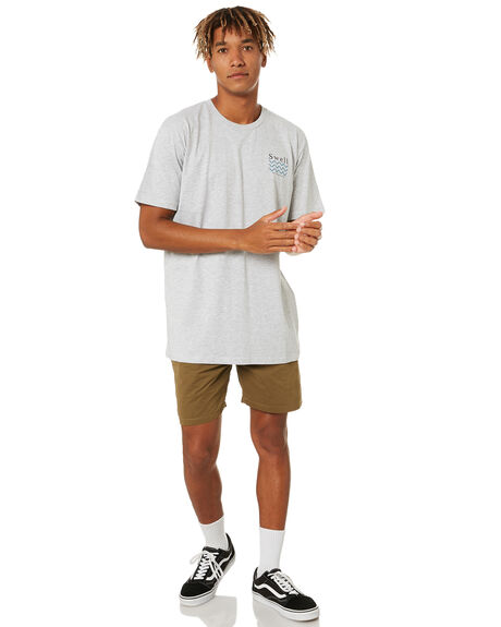 GREY MARLE MENS CLOTHING SWELL TEES - S5203000GRM