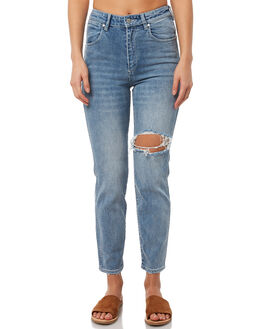 NEW WAVE BUSTED WOMENS CLOTHING WRANGLER JEANS - W951116FP5NWAVE