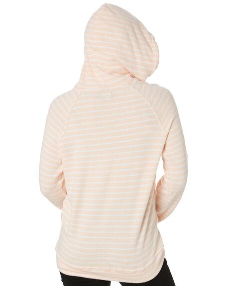 LIGHT PEACH WOMENS CLOTHING VOLCOM JUMPERS - B3111801LPC
