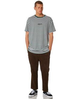 BROWN MENS CLOTHING STUSSY PANTS - ST081602BRN