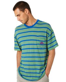BLUE MENS CLOTHING MISFIT TEES - MT005101BLUE