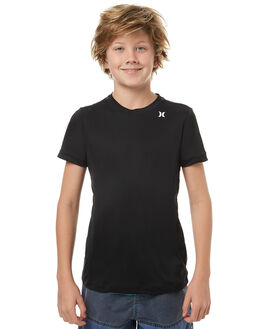 BLACK SURF RASHVESTS HURLEY BOYS - BRG000013000A